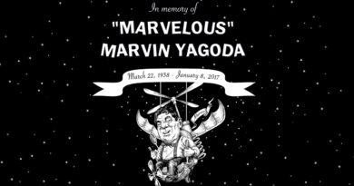 In memory of Marvelous Marvin Yagoda